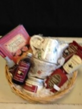 Teapot and relax Gift Basket