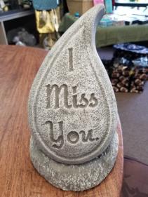 Tear Drop Memorial Stone