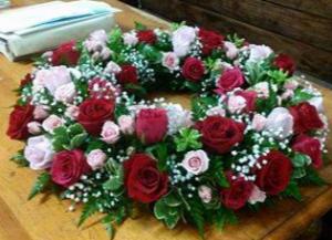 Tears of Comfort Memorial Urn Wreath in Tampa, FL | Island Flowers