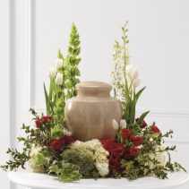 Tears of Comfort Urn Arrangement  Funeral