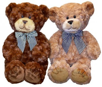 "Teddy Bear 15"" Length Cocoa or Tan,  Must specify in special instructions for online orders"