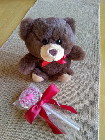 "Teddy 8"" brown"