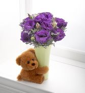 Teddy bear and flowers  Birthday Flower Delivery In DC