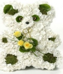 Teddy Bear personalized flowers