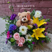 Teddy Bear Garden Arrangement