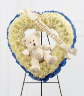TEDDY BEAR HEART Funeral for child
