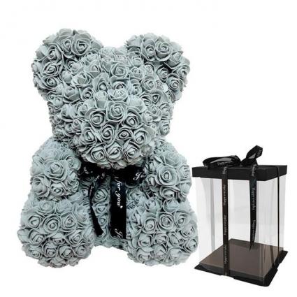 Teddy Bear Made Of Roses 14