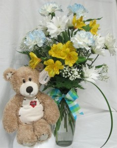 Teddy Boy Inspirations Original Design in Lock Haven, PA | INSPIRATIONS FLORAL STUDIO
