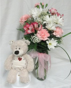 Teddy Girl Inspirations Original Design in Lock Haven, PA | INSPIRATIONS FLORAL STUDIO