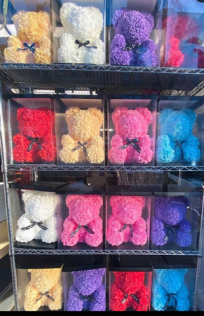 Teddy's Roses Bear Any