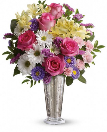 Telaflora Smile and Shine Vase Arrangment