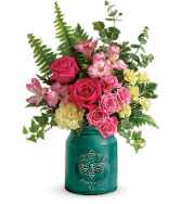 Telaflora's Country Beauty Bouquet  Vase Arrangement