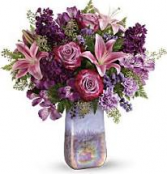 Teleflora Amethyst Vase