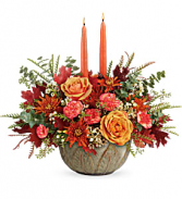 Teleflora Artisanal Autumn Centerpiece Fall