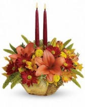 Teleflora Autumn Reflections Centerpiece