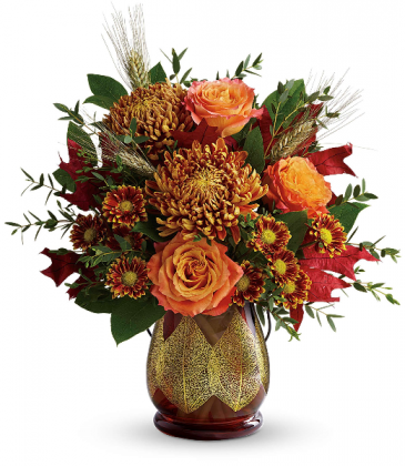 Teleflora Changing Leaves Bouquet Fall Festive