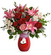 Teleflora Charmed in Love vase