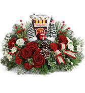 Teleflora Festive Fire Station Christmas
