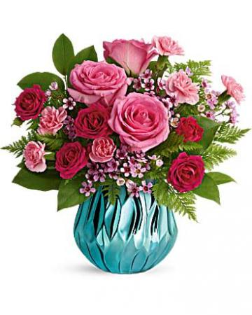 Teleflora Gem of Heart Bouquet  Fresh Arrangement