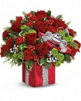 Teleflora Gift Wrapped Bouquet Keepsake