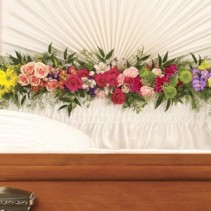 Teleflora Glorious Memories Garland Funeral Flowers