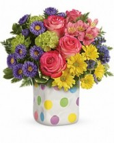 Teleflora Happy Dots