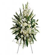 Teleflora Heartfelt Sympathy Spray Fresh Flower