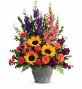 Teleflora Hues of Hope Bouquet Sympathy