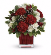 Teleflora Make Merry Bouquet Fresh Arrangement