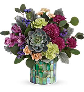 Teleflora Marvelous Mosaic Fresh Flowers