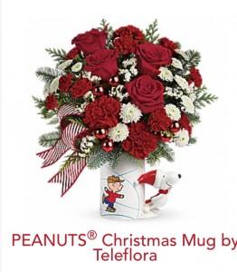 Teleflora Mug Arranngement Christmas