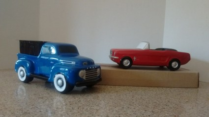 Teleflora mustang or ford pick up collector items 2 for $40.00