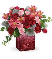 Teleflora Ooh La Ombre Bouquet