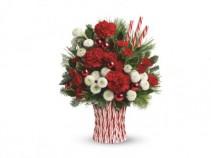 Teleflora Peppermint sticks Bouquet