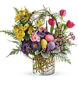 Teleflora Pop Of Spring Fresh Flowers