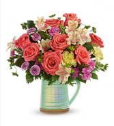 Teleflora pour on the beauty bouquet