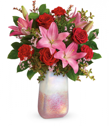 Teleflora Pretty in Quartz Bouquet