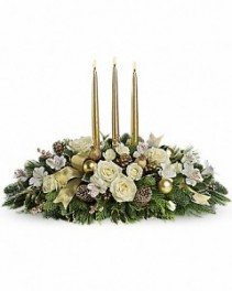Teleflora Royal Christmas Centerpiece Holiday Arrangement