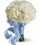 Teleflora Sweet White Bouquet Wedding Bouquet