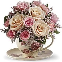 Teleflora Victorian Tea Cup