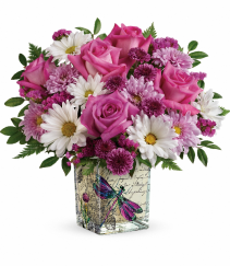Wildflower In Flight Teleflora Bouquet