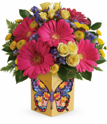 Teleflora Wings Of Thanks Bouquet
