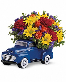 TELEFLORA'S 48 FORD PICK UP