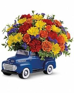 '48 Ford Pickup Bouquet Floral Arrangement