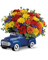 Teleflora's™ '48 Ford Pickup Bouquet Happy BIrthday /  Happy Father's Day / Al Occasion