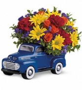 Teleflora's 48' Ford Pickup Fresh Bouquet