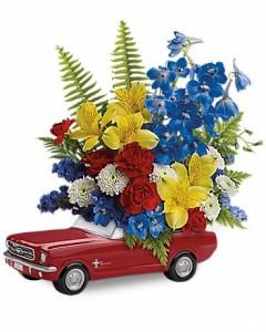 '65 Ford Mustang Bouquet Flower Arrangement