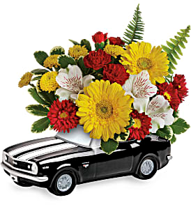 Teleflora's '67 Chevy Camaro Bouquet Fresh Flower