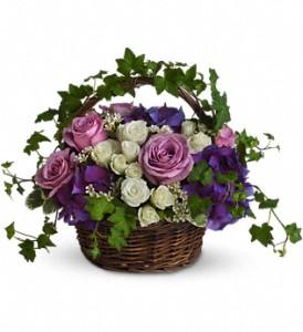 Teleflora's A Full Life Basket Arrangement in Auburndale, FL   The House of Flowers
