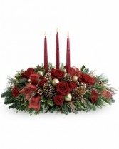 Teleflora's All Is Bright Holiday Centerpiece